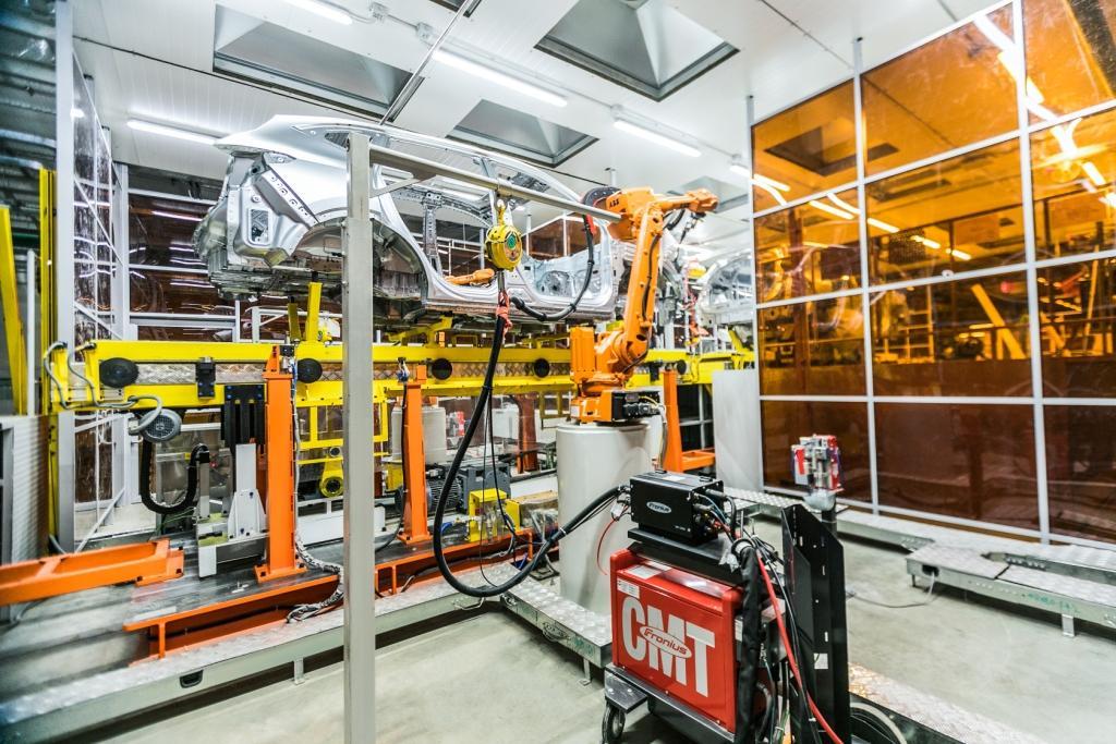Новый автомобильный завод Haval оснащен роботизированными решениями ABB