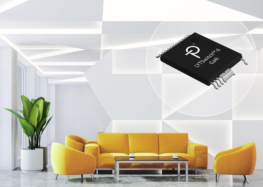 Новые микросхемы для LED-драйверов LYTSwitch-6 со встроенным транзистором от Power Integrations