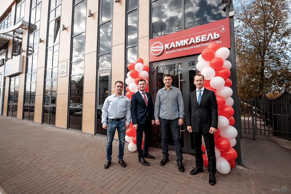 В Ульяновске состоялось открытие магазина электротехнических товаров «Камкабель»