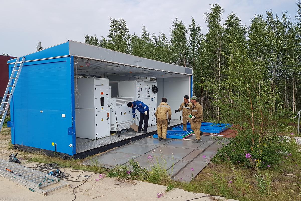 Трансформаторная подстанция 2КТПСП-160 в блочно-модульном исполнении УХЛ1
