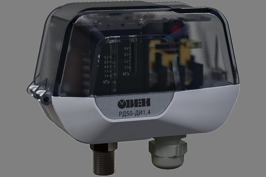 Компания ОВЕН открывает продажи новой линейки механических реле давления РД50-ДИ