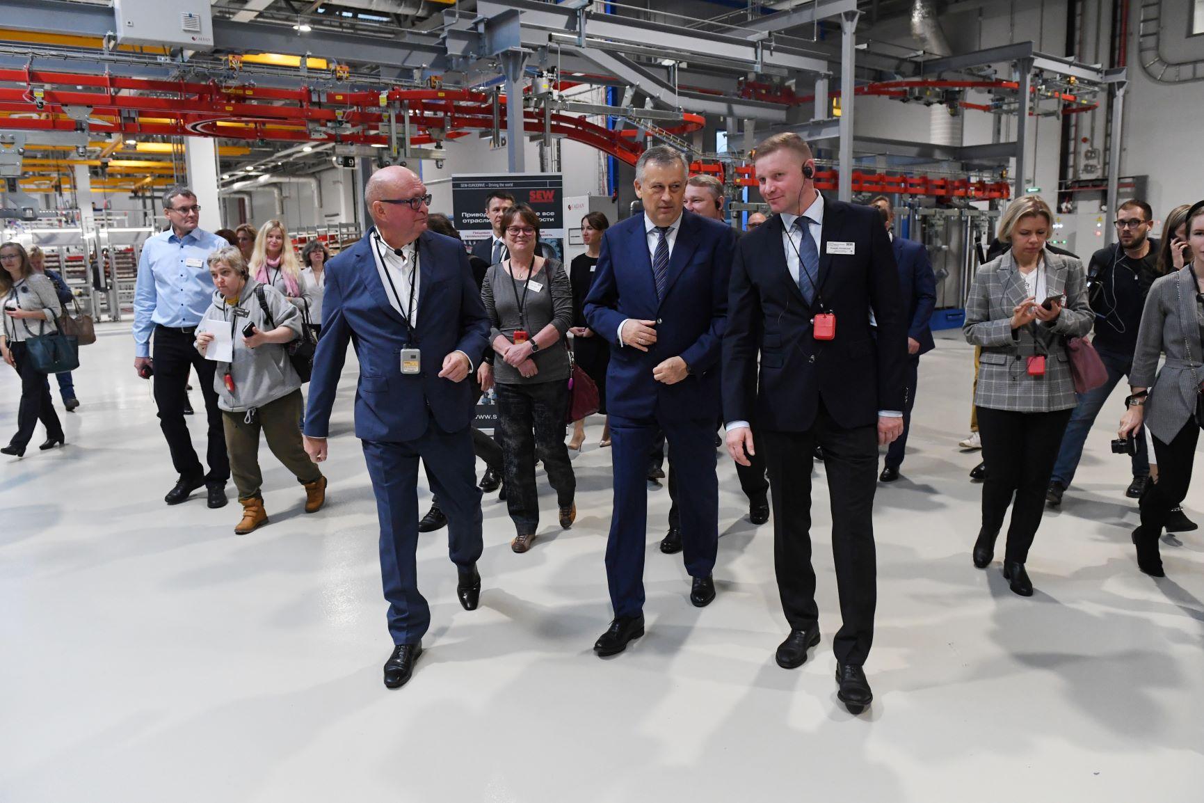 В Ленинградской области введен в эксплуатацию «Центр приводной техники СЕВ-ЕВРОДРАЙФ»