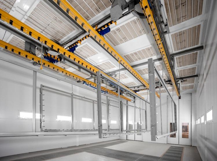 Электрощит Самара запустил в эксплуатацию экологичный окрасочный комплекс с уникальным оборудованием