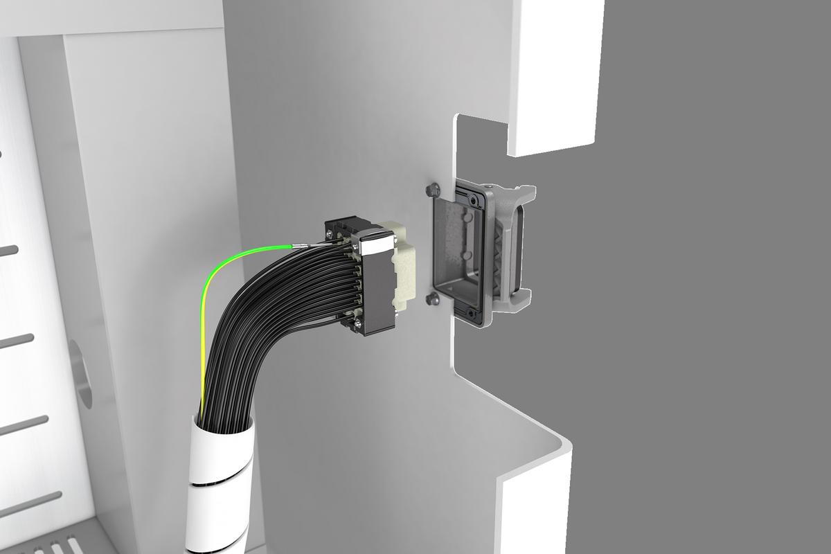 """В """"Triple D"""" доступно до 107 контактов для передачи сигналов или электропитания."""