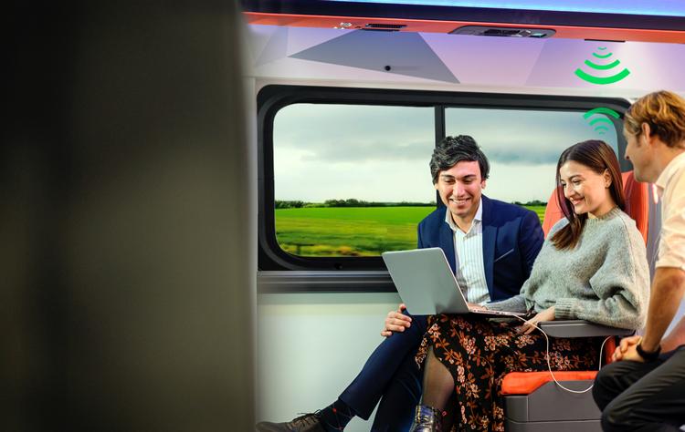 Беспроводное подключение к интернет посредством LiFi теперь доступно и в общественном транспорте