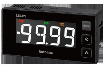 Autonics представляет новые цифровые панельные измерительные приборы серии MX4W
