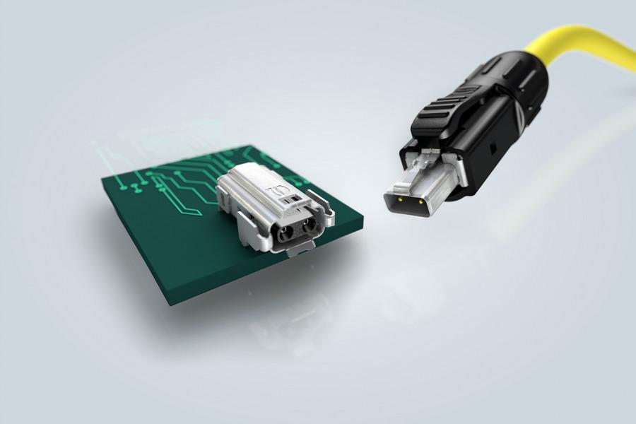 Соединитель T1 Industrial позволил компании HARTING стать первым в мире производителем, который предлагает полностью стандартизированные компоненты для промышленной технологии M3I3C3E3.
