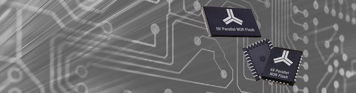 Alliance Memory выпустил новые микросхемы Parallel NOR Flash на 5 В