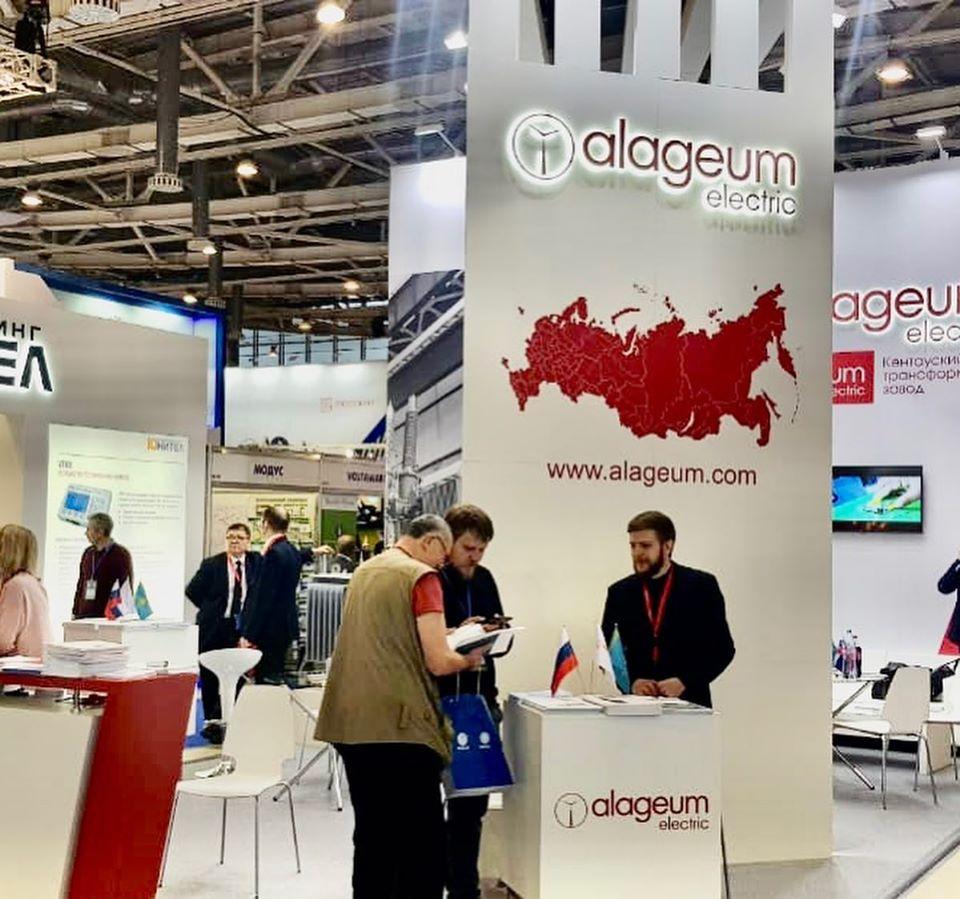 Alageum Electric традиционно принял участие в форуме «Электрические сети» в Москве
