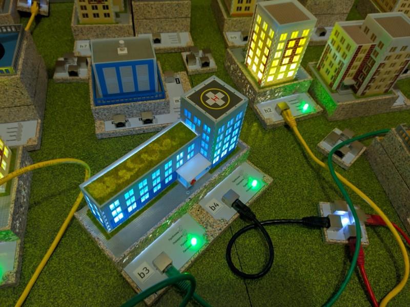 Лаборатория по изучению будущего энергетики для школьников  ЭТИ