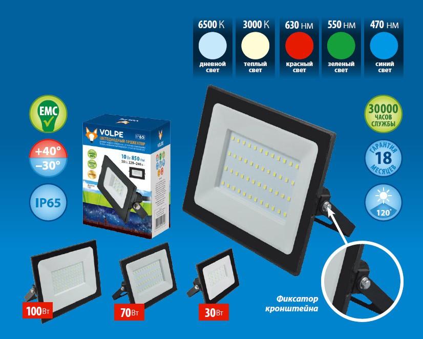 Uniel расширяет ассортимент LED-прожекторами ULF-Q513
