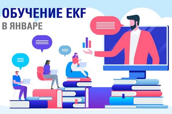 EKF предлагает принять участие в январских обучающих курсах